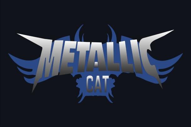 Metallic Cat 4x6